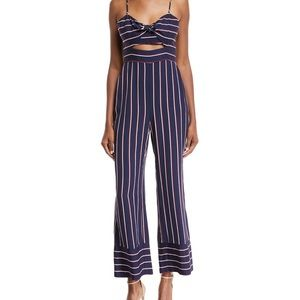 BARDOT striped jumpsuit